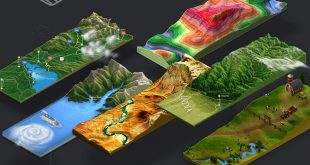 Download 3D Map Generator - Terrain from Heightmap,Draw or modify a heightmap with the heightmap tools,Photoshop CC-2014 or newer
