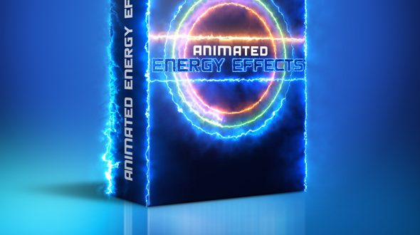 Download Animated Energy Effects Photoshop Action